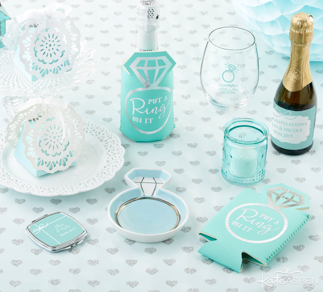 Something Blue Collection | Gifts and Decor For a Something Blue Bridal Shower | Kate Aspen