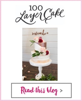 100 Layer Cake - BFW: We Do Cake Topper, Mr Mrs Glasses