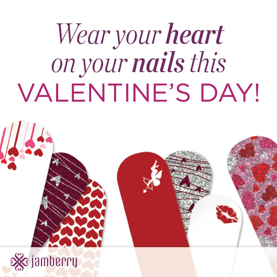 Valentine's Day Party With Friends | Girls' Night In | Jamberry Nails | Valentine's Day Nails | Valentine's Day Party Ideas from Kate Aspen