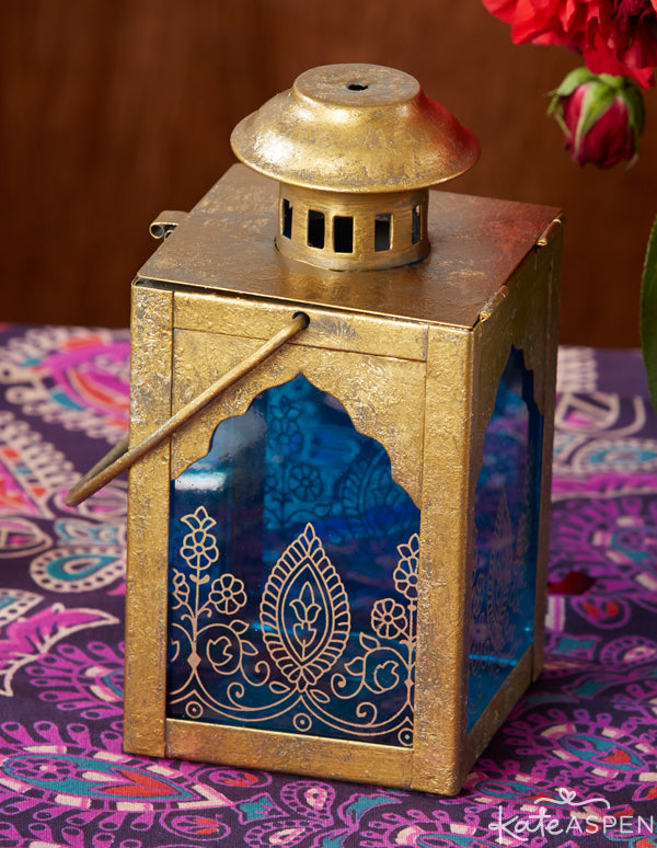 Jewel Tone Indian Wedding Lanterns from Kate Aspen