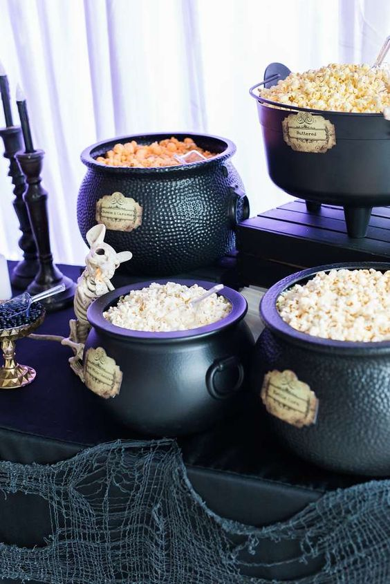 Witch Halloween Party Theme | 6 Spooky Halloween Party Essentials | Kate Aspen