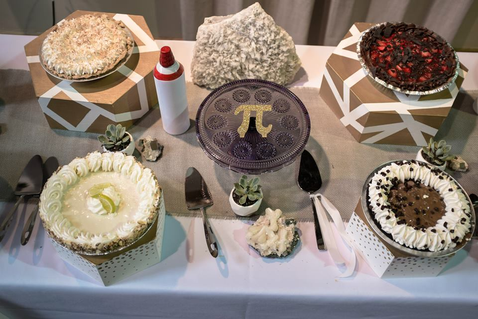 A beautiful pie bar setup for Pi Day | Sam Spencer Imaging
