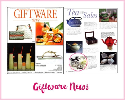 2013 October Giftware News Tea Infuser