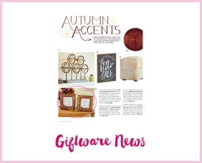 Giftware News - Copper Leaf Frame