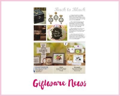Giftware News - Here Comes the Bride Chalkboard Sign