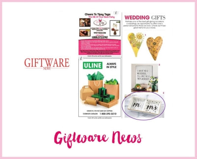 Giftware News - Live, Laugh, Love Whisk and Tea Towel