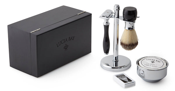 Father of the bride gift idea - shaving kit | Lucia Bay via Uncommon Goods