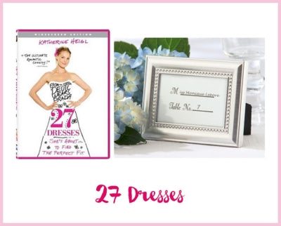 27 Dresses (Movie) - Beautifully Beaded Photo Frame