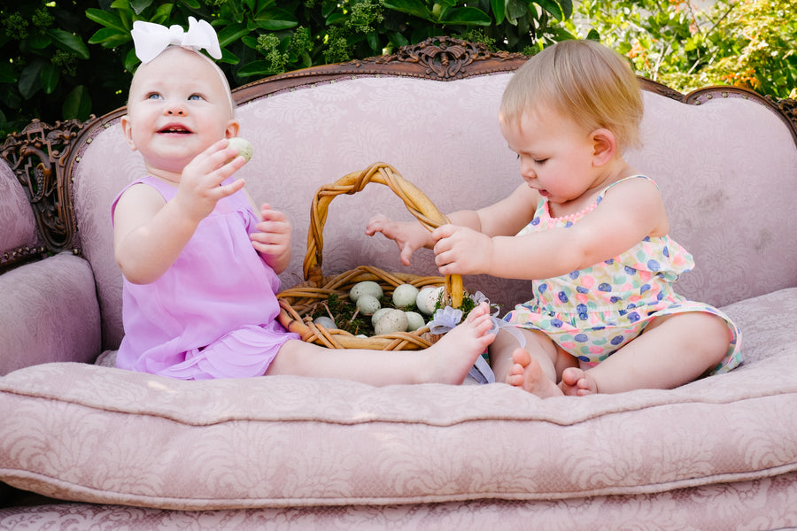 Babies With Egg Basket | Easter Brunch | Tim Chong