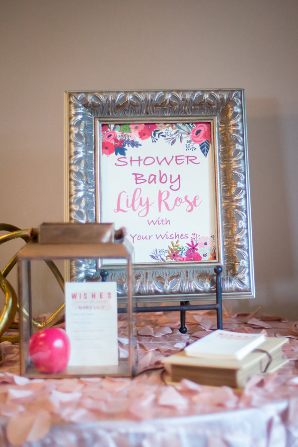 Baby Wish Jar | A Magical Pink Baby Shower | Kate Aspen
