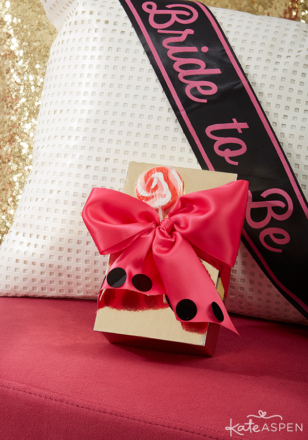 Bachelorette Bash Gift and Sash | Kate Aspen