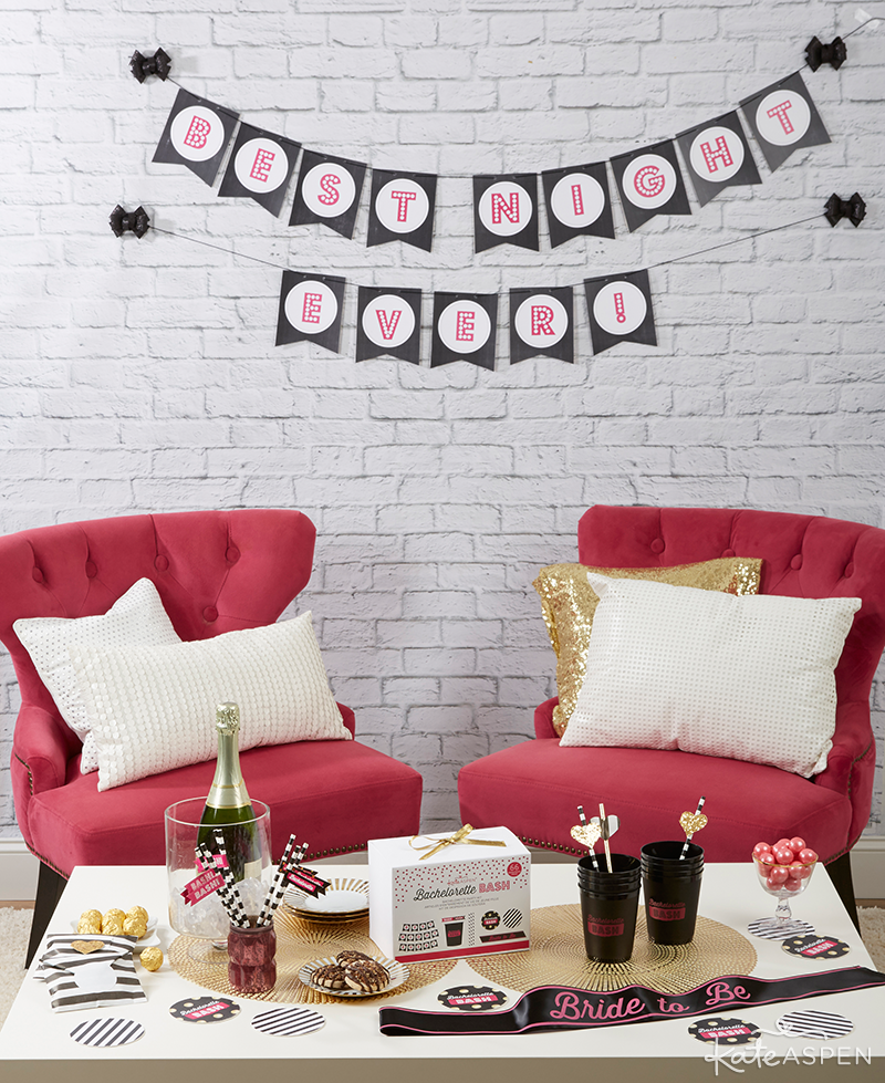 Bachelorette Party Table | Kate Aspen