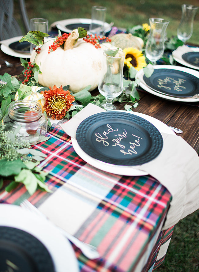 Backyard Fall Campfire Party | Inspired By This | 7 Festive Fall Party Ideas | Kate Aspen