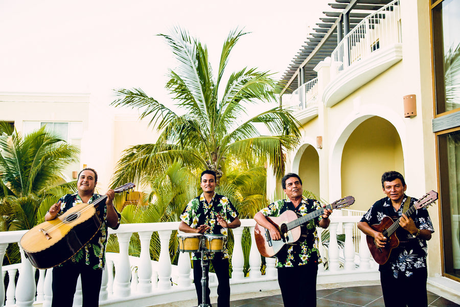 Mariachi Band | A Destination Wedding Weekend in Mexico | Kate Aspen