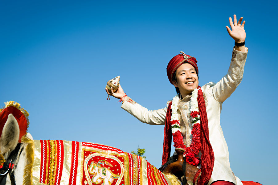 Baraat | Groom on Horse | Hindu Chinese Wedding | HRM Photography