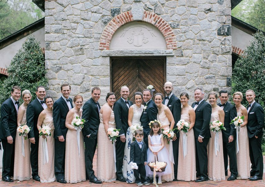Bridesmaids and Groomsmen | Best of 2018: Kate Aspen Wedding Features | Kate Aspen