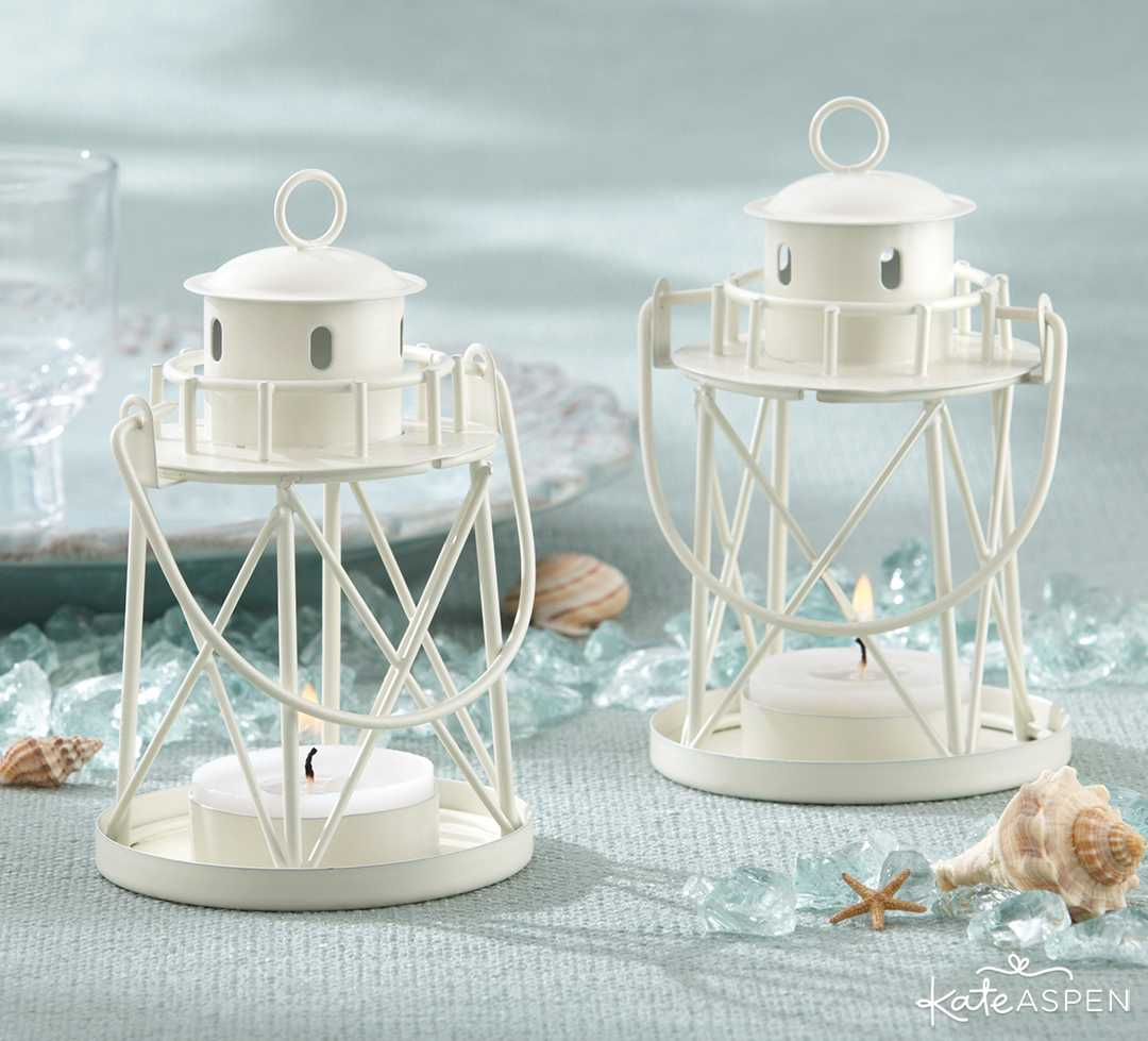 Lighthouse Tea Light Holder | 6 Ways to Light Up Your Night With Lanterns | Kate Aspen