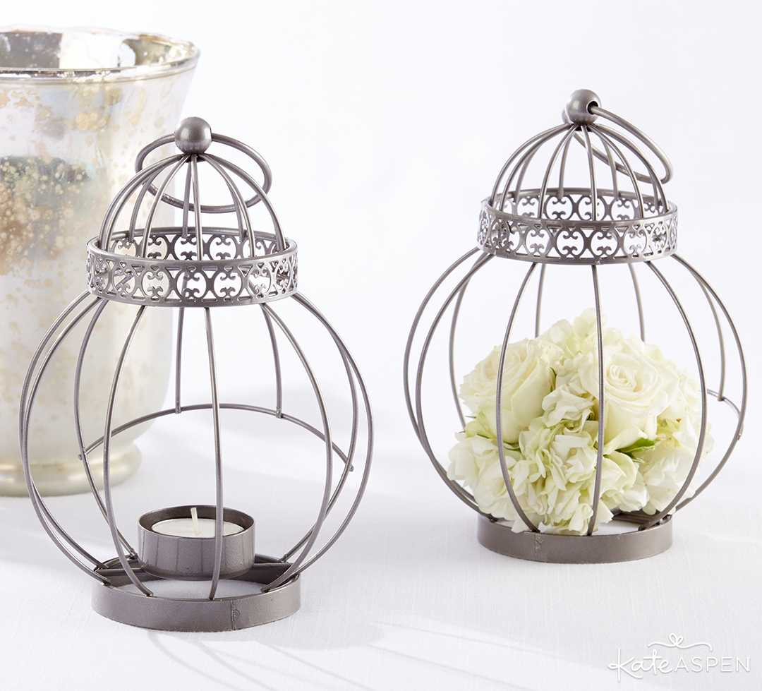 Vintage Bird Cage | 6 Ways to Light Up Your Night With Lanterns | Kate Aspen