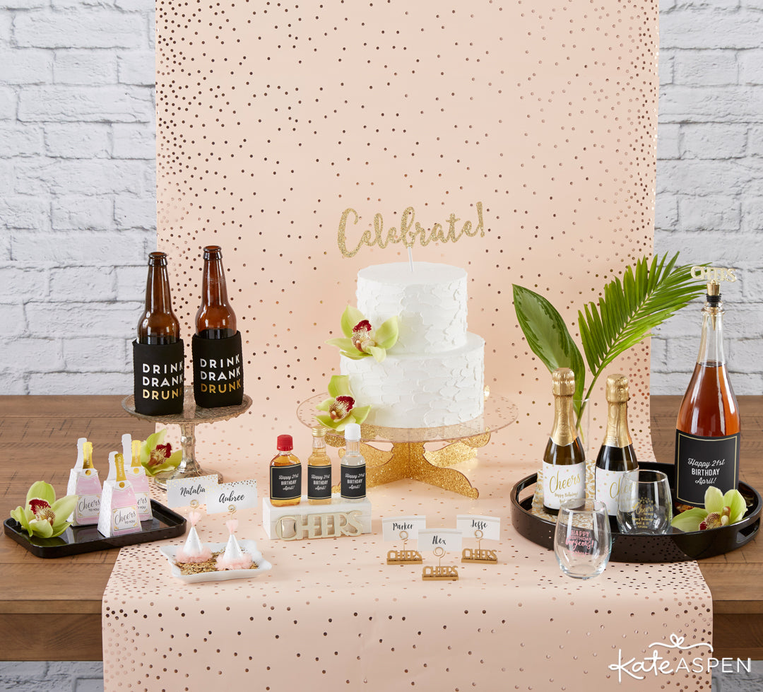 Birthday Party Tablescape | The Perfect Birthday Party For Her | Kate Aspen