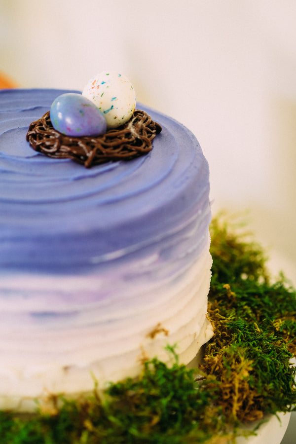 Beautiful Blue Ombre Cake  | Easter Brunch | Tim Chong
