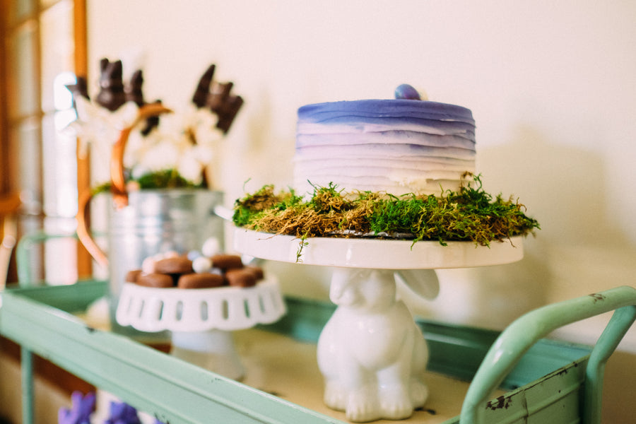 Spring Blue Ombre Cake  | Easter Brunch | Tim Chong