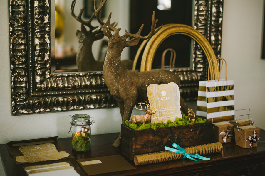 Woodland Graduation Party Decor | Jessica Charles Photography