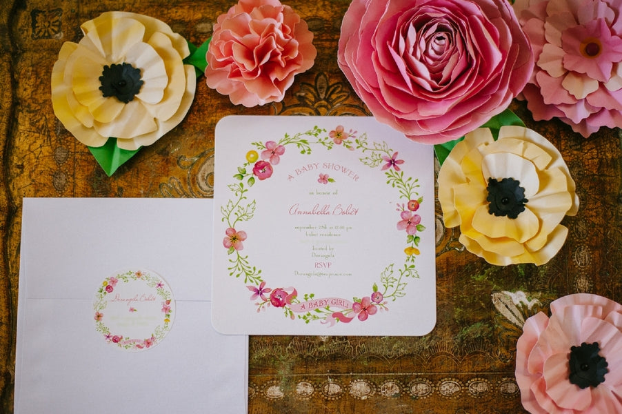 Garden themed Baby Shower | Sip and See | Kate Aspen Blog | Jessica Charles Photography