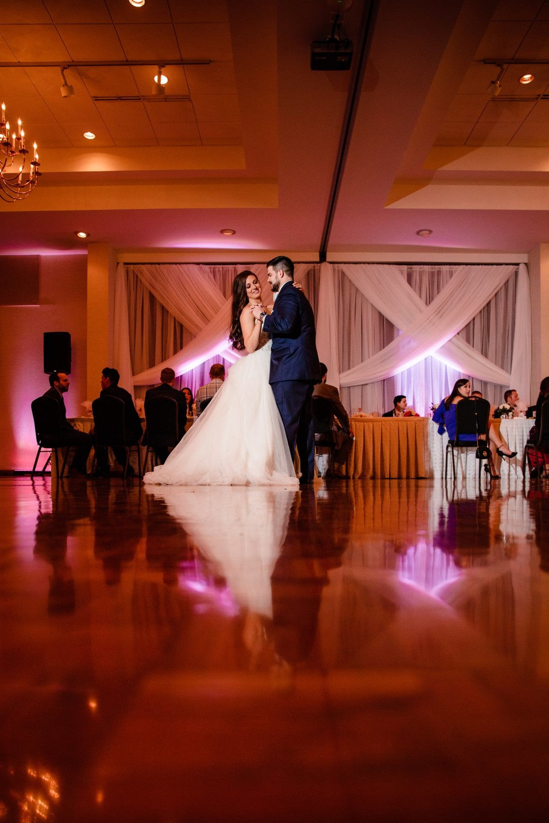 First Dance | A Gorgeous Grand Wedding in Ohio | Kate Aspen