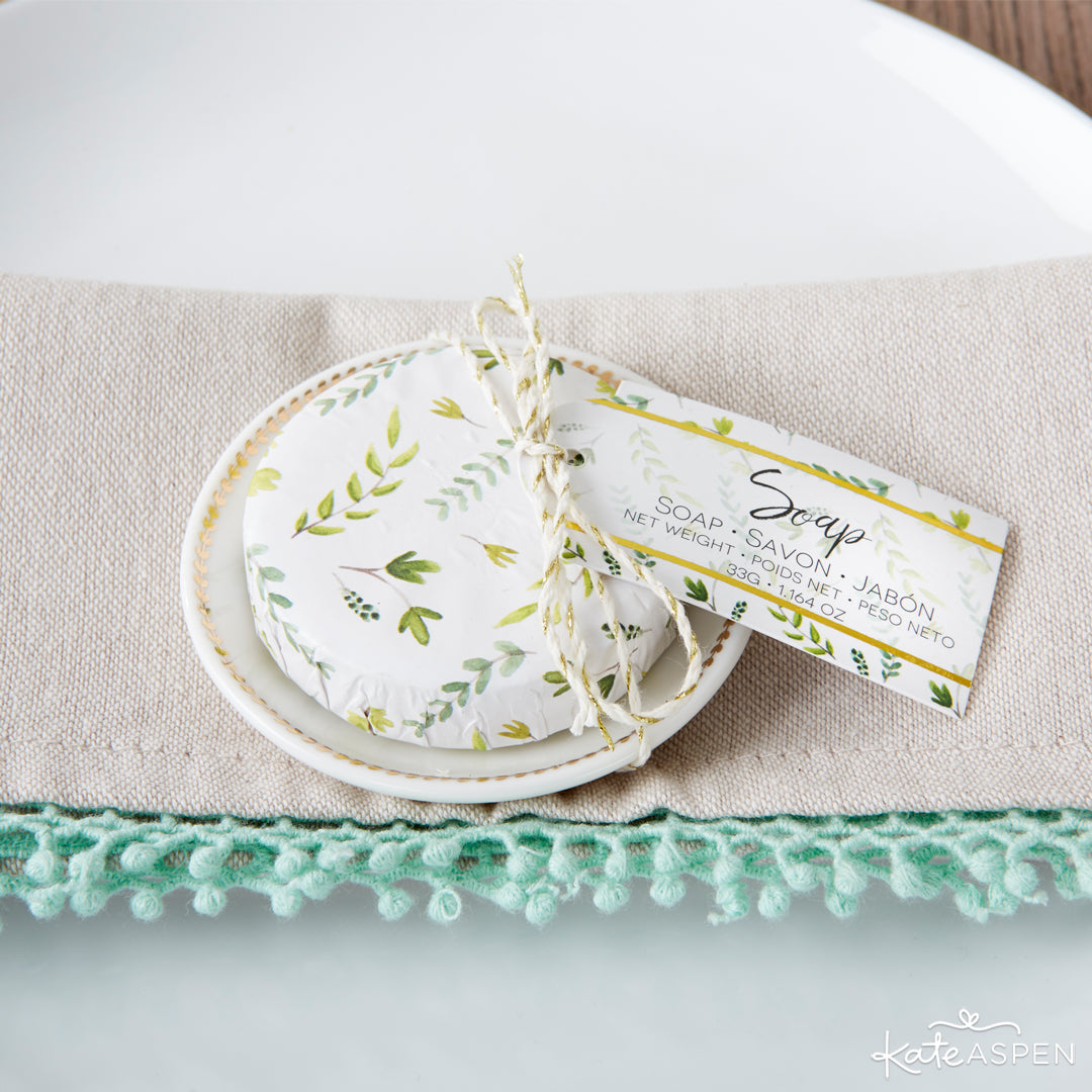 Botanical Soap | 6 Budding Additions to Your Botanical Wedding | Kate Aspen
