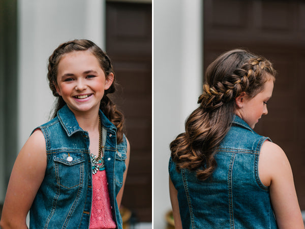 Braided Hairstyle | Jessica Charles Photography