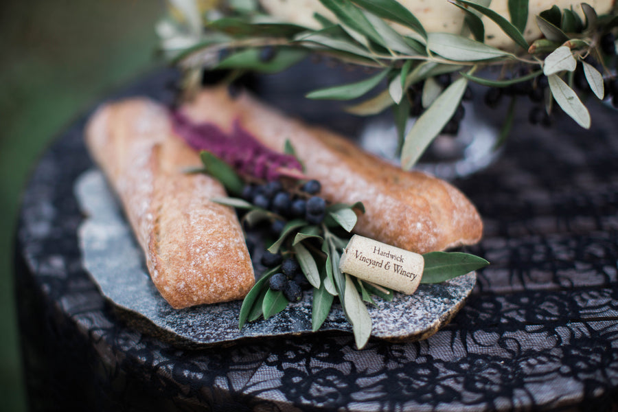 Fresh Bread and Berries | Wine Inspired Fall Wedding | Brooke Ellen Photography