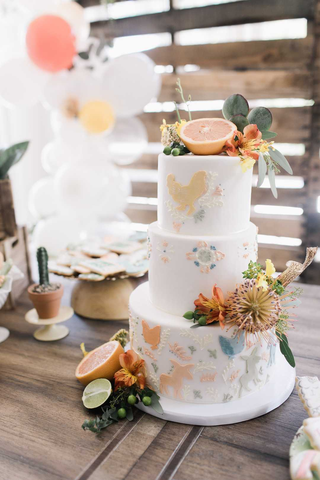 Cake Table | A Taco Twosday Birthday Fiesta | Kate Aspen
