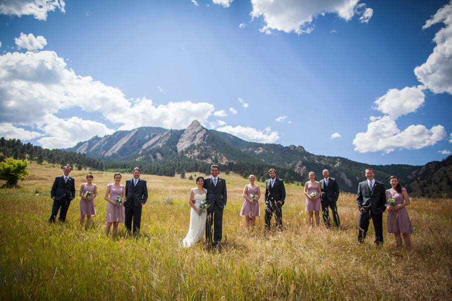 Bridal Party | Colorado Wedding  | Katie Keighin Photography