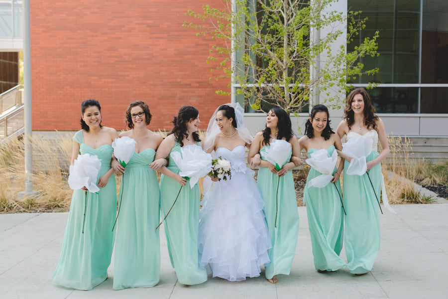 Bridal Party |Fusion Cambodian Wedding |ENV Photography