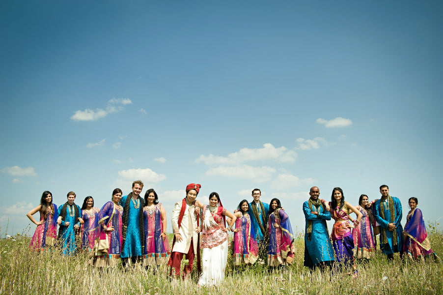 Bridal Party | Hindu Chinese Wedding | HRM Photography