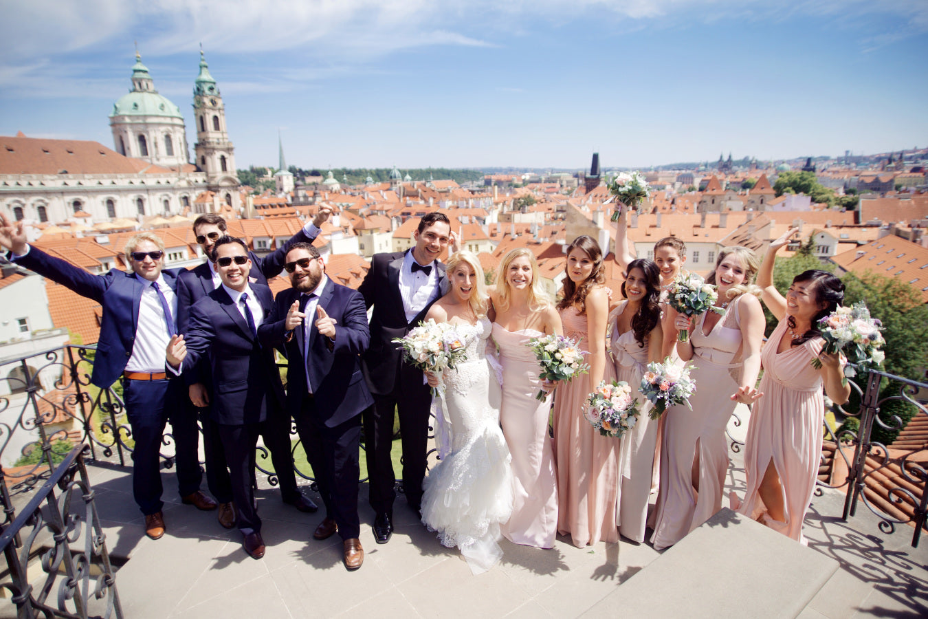 Bridal Party | Summer Wedding in Prague | Photography: Stepan Vrzala