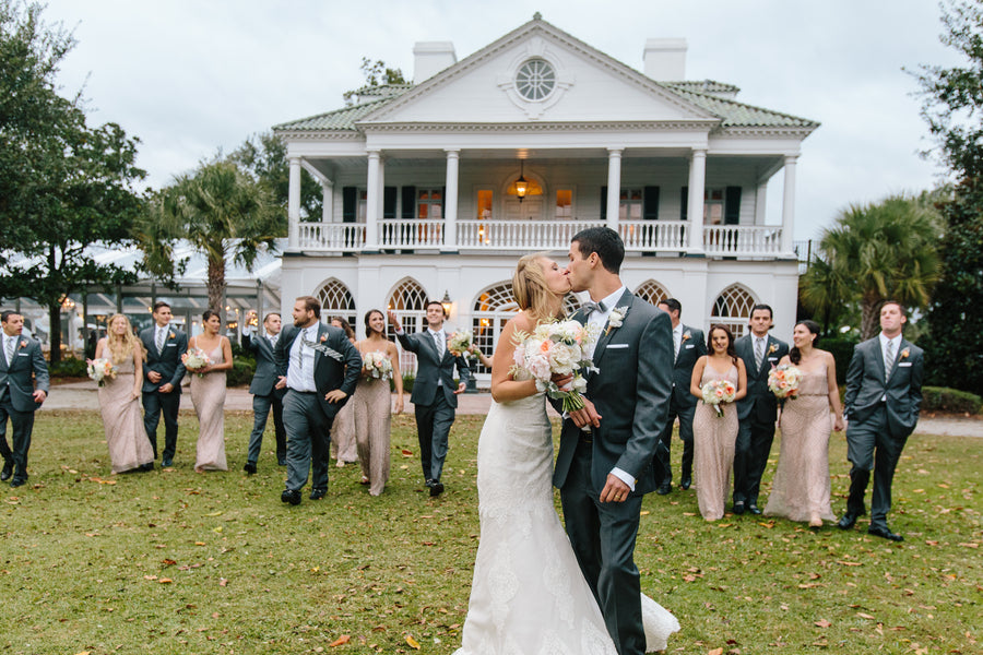 Bridal Party | Charleston Wedding | Riverland Studios