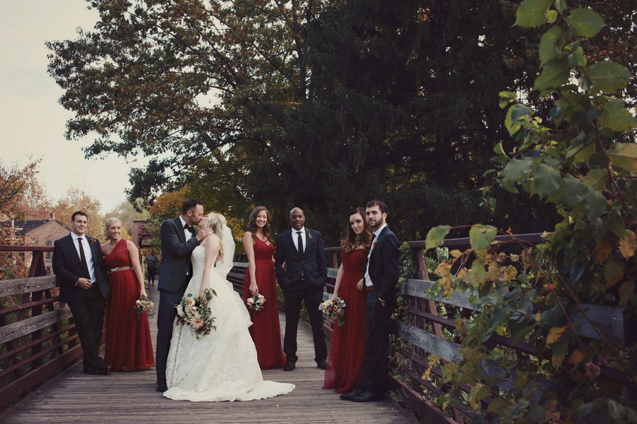 Bridal Party | New England Wedding | Laura Dee Photography