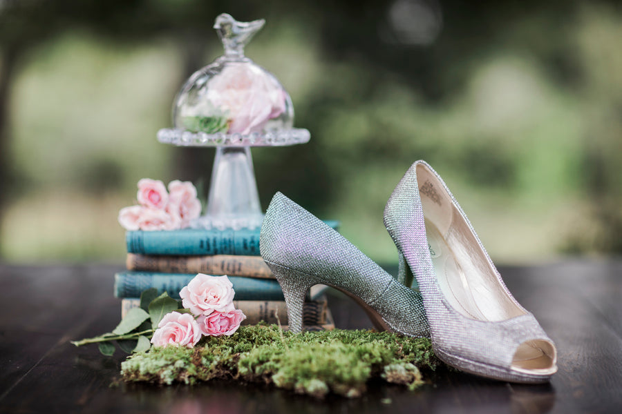 Bridal Shoes | Details For The Perfect Floral Wedding | Kate Aspen
