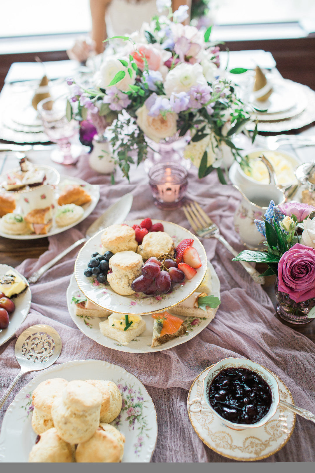 Bridal Shower Food | Tips For the Perfect Floral Bridal Shower | Kate Aspen