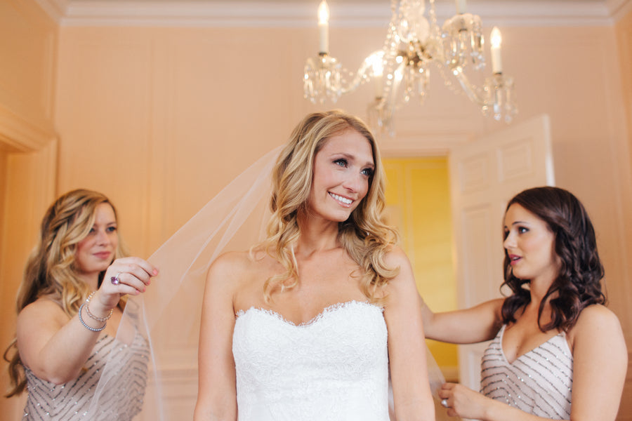 Bride Getting Ready | Charleston Wedding | Riverland Studios