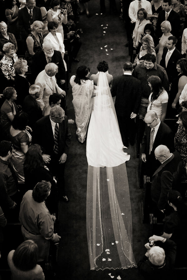 Bride Walking Down Aisle | Pepper Nix Photography