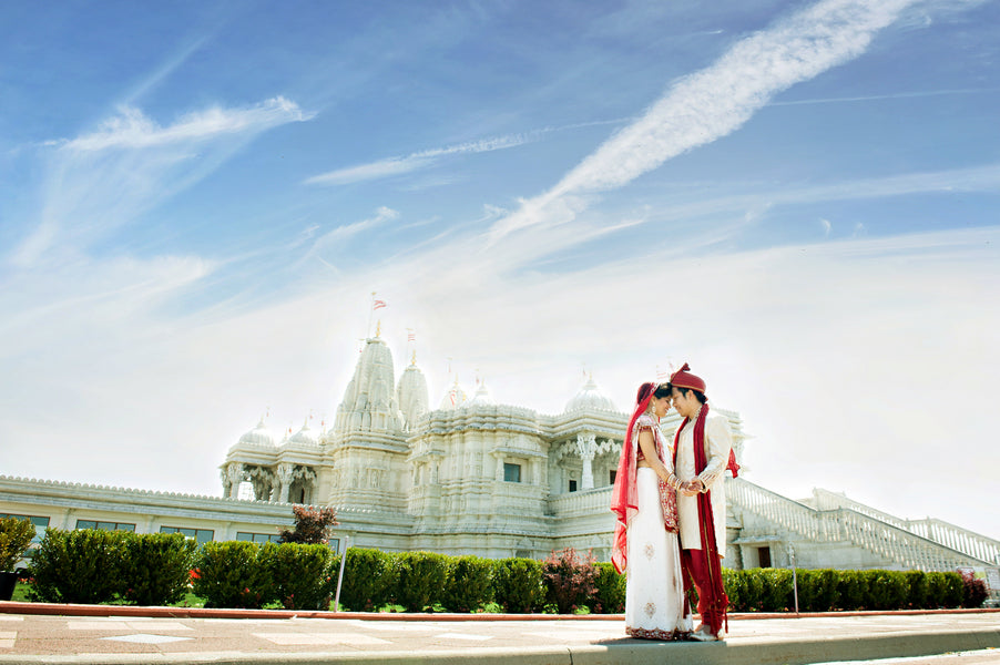 Bride and Groom | Hindu Chinese Wedding | HRM Photography