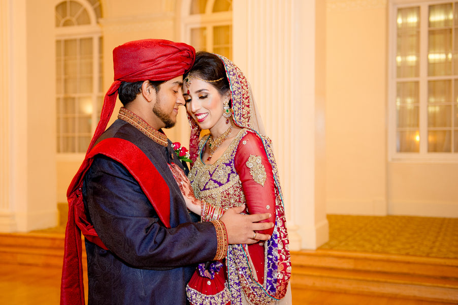 Bride and Groom Pakistani Wedding Ceremony | South Asian Wedding | Paris Mountain Photography