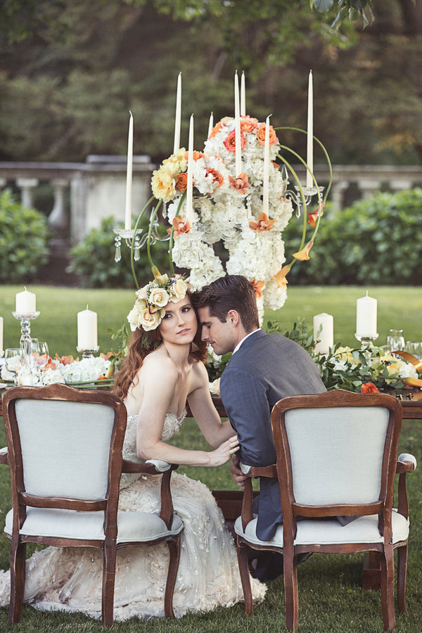 Lush Floral Reception Table | Garden Wedding Ideas | Jaylim Studio |Kate Aspen