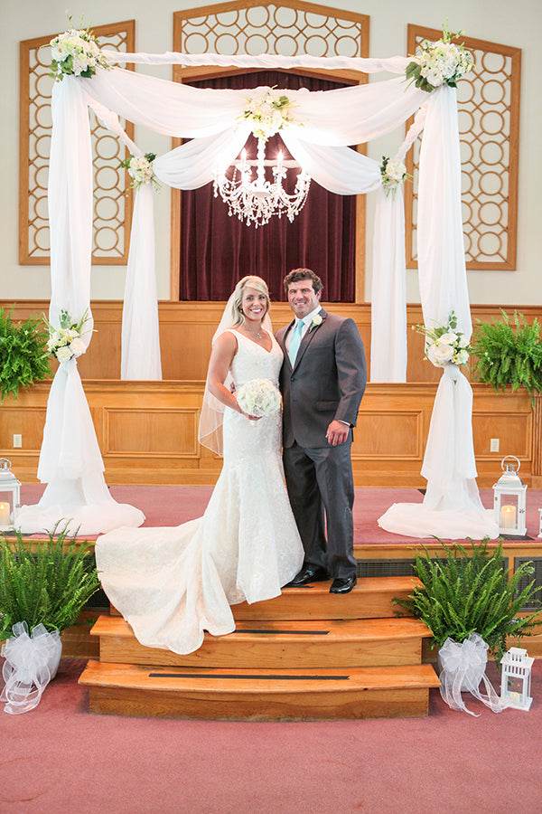 The Bride and Groom After Ceremony | Wes Roberts Photography