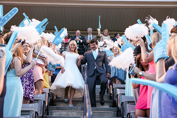 Grand Exit in Stadium | Wes Roberts Photography