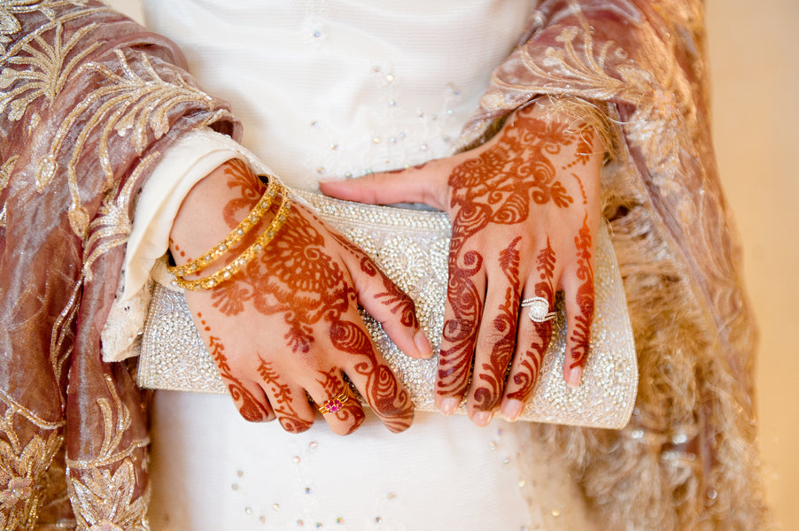 Bride's Mehndi | Fusion South Asian Wedding | Paris Mountain Photography
