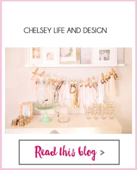 Bright Bold Design - Chelsey Mass - 1st Swan Birthday: gold dot wine glasses, gold candy tins, table numbers