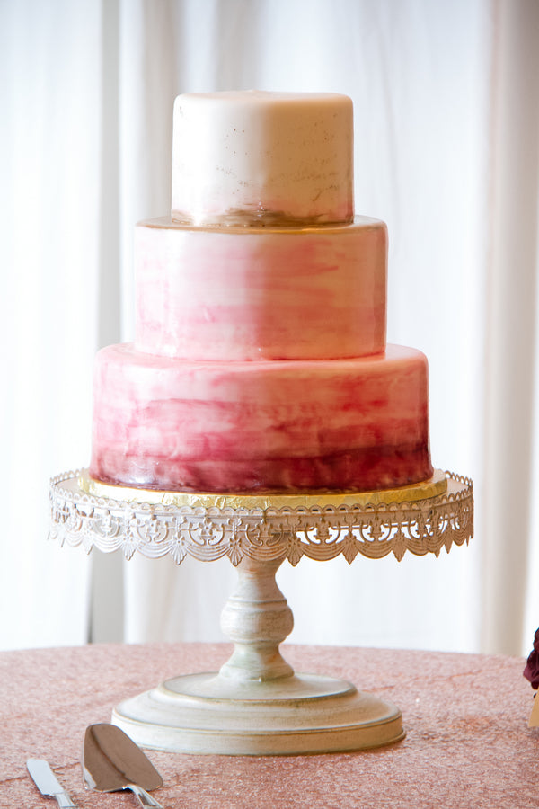 Cake | A Vibrant Indian Fusion Wedding | Kate Aspen